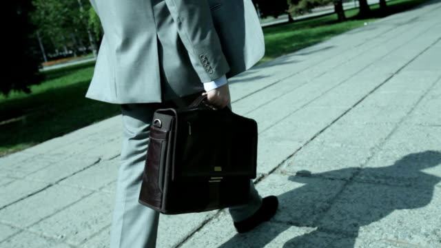 Busy businessman video