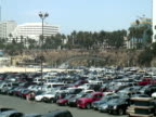 Busy Car Parking Lot: Looking for a Space -Time Lapse- video