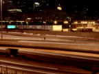 Busy Chicago Highway Timelapse NTSC video
