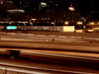 Busy Chicago Highway Timelapse PAL video