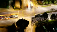 Busy Intersection in Singapore video
