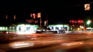 Busy Intersection Time Lapse video