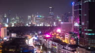 Busy Night in Manila - Time Lapse video