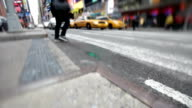 Busy NYC Street video