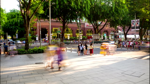 Busy Orchard Road Singapore video