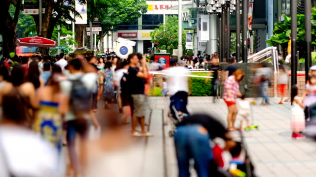 Busy Orchard Road, Singapore video