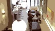 Busy restaurant video