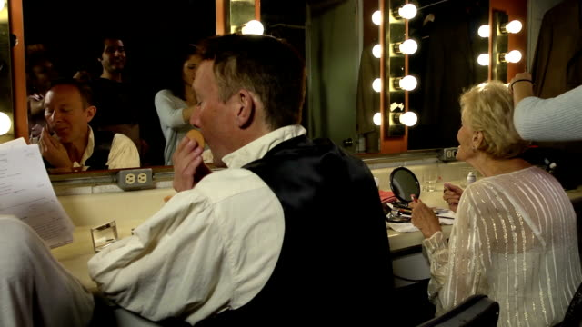 Busy Theater Dressing Room video