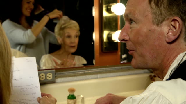 Busy Theater Dressing Room - CU video