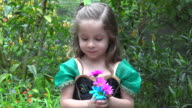 Butterflies and Flowers video