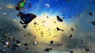 Butterflies, dandelion video