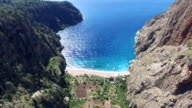 Butterfly Valley Aerial View video