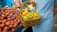 Buying Fruit at Street Vendor video