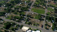 Byron  - Aerial View - Wyoming, Big Horn County, United States video