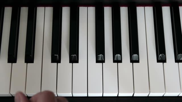 c minor scale on piano video
