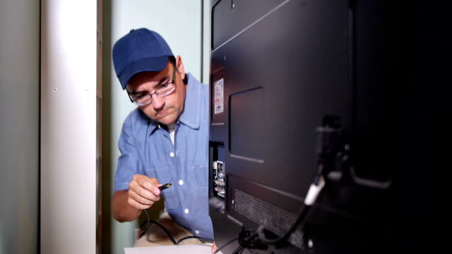 Cable TV Installer video