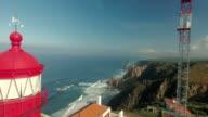 Cabo Da Roca Light House Aerial Video video