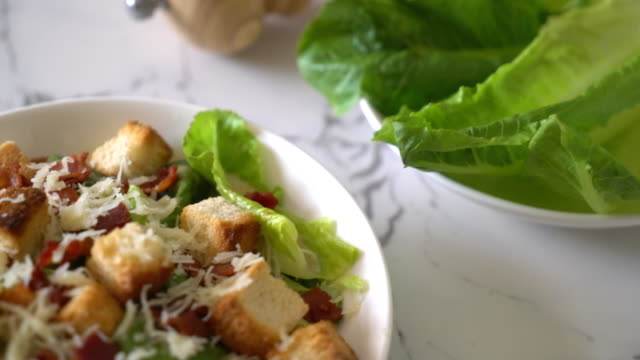 caesar salad video