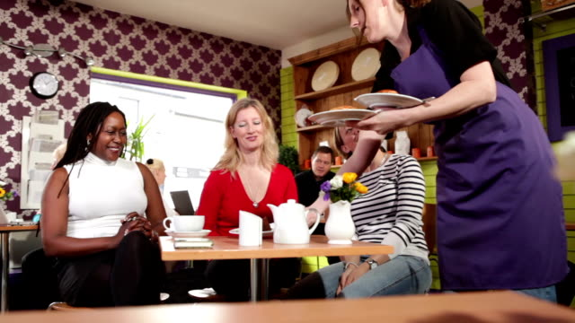 Cafe culture friendly gathering video