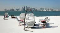 Cafe in Doha, Qatar video