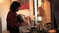 Cafe owner has been brewed coffee video