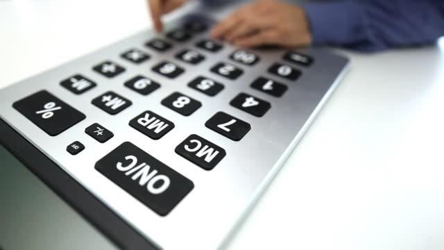 Calculator Tilt Shift video