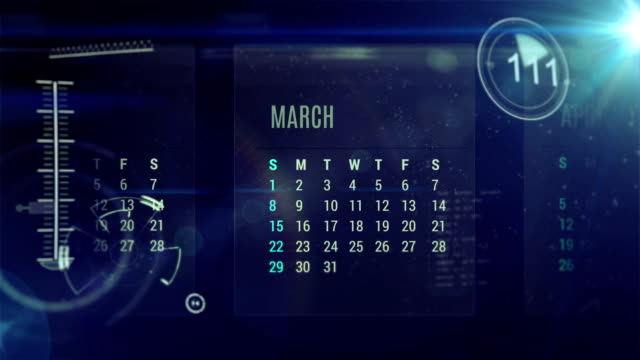 calendar digital video