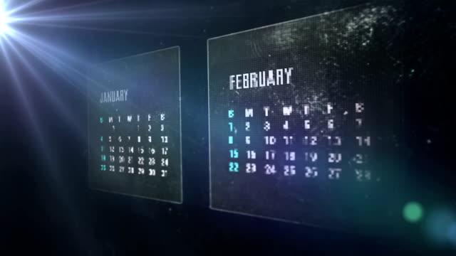 calendar digital video