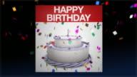 Calendar Flip to A Birthday video