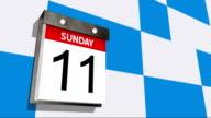 Calendar video