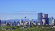 Calgary Skyline video