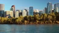 Calgary Waterfront Skyline video