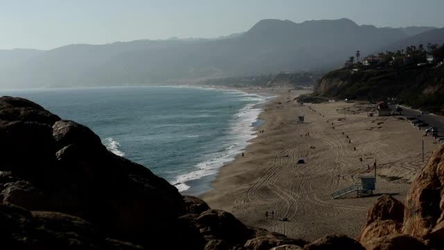 California Beach : Point Dume and Zuma Beach, Malibu video