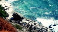 California coastal scene near Big Sur video