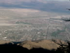 California Desert: Palm Springs / Coachella Valley from Above, Push video