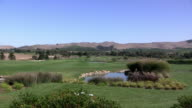 California golf course and winery video