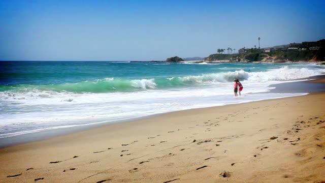 California shoreline video