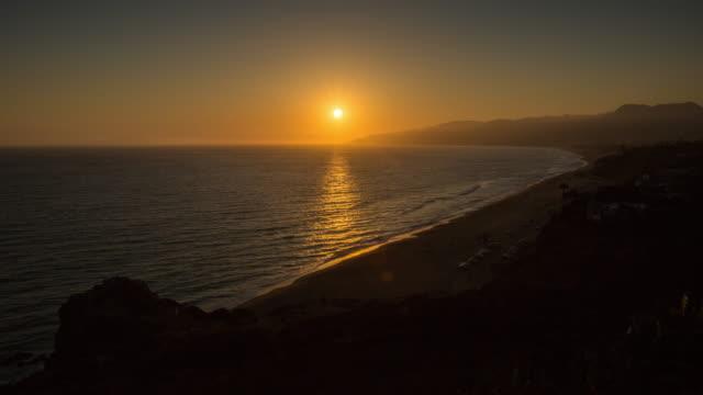 California Sunset 4k Timelapse video