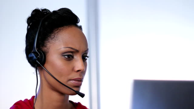 Call center. video