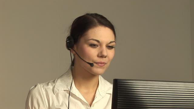 Call centre / Receptionist - HD & PAL video