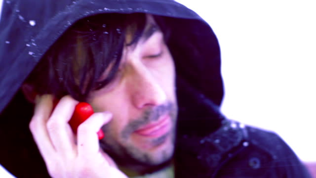 calling in snow video