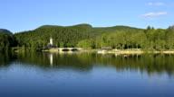 HD TIME-LAPSE: Calm Lake Of Bohinj video