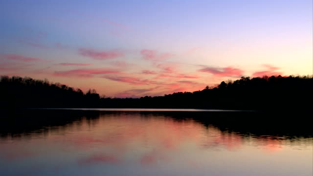Calm Lake Sunset video