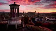 Calton Hill, Edinburgh, Scotland video