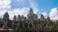 Cambodia temples landmark 4k angkor wat bayon video