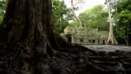 Cambodian UNESCO World Heritage Site Banteay Srey temple video HD video
