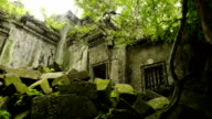 Cambodian UNESCO World Heritage Site Beng Melea temple video HD video