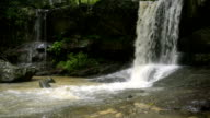 Cambodian UNESCO World Heritage Site Kbal Spean   video HD video