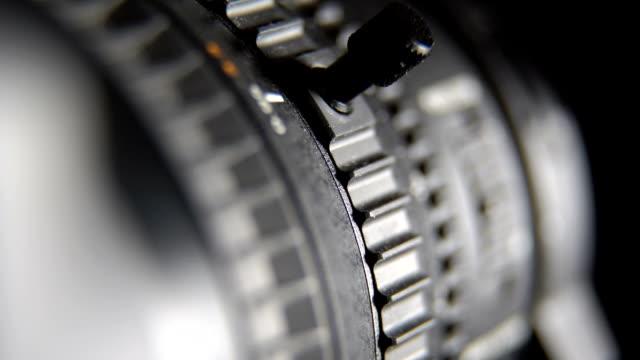 Camcorder camera zoom lens adjustment video