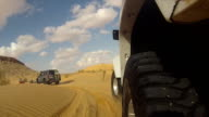camera car in the sahara desert video
